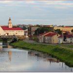 Фото Орши – Оршица, Ратуша, мост летом