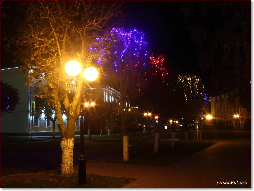 Фото Орши – вечерний центр города