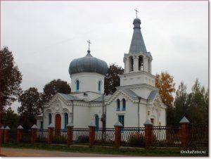 Фото Орши – церковь