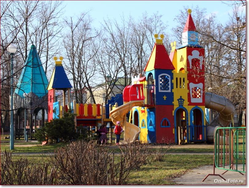 Фото Орши – детский парк Страна чудес