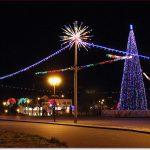 Фото Орши – ёлка на Замковой площади