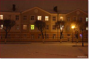 Фото Орши – ночной город зимой