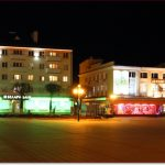Фото Орши – площадь Ленина ночью