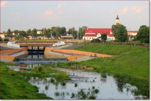 Фото Орши – река Оршица засушливым летом
