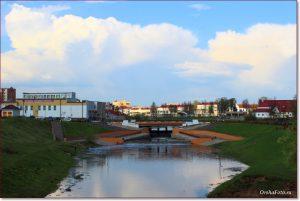 Фото Орши – река Оршица летом