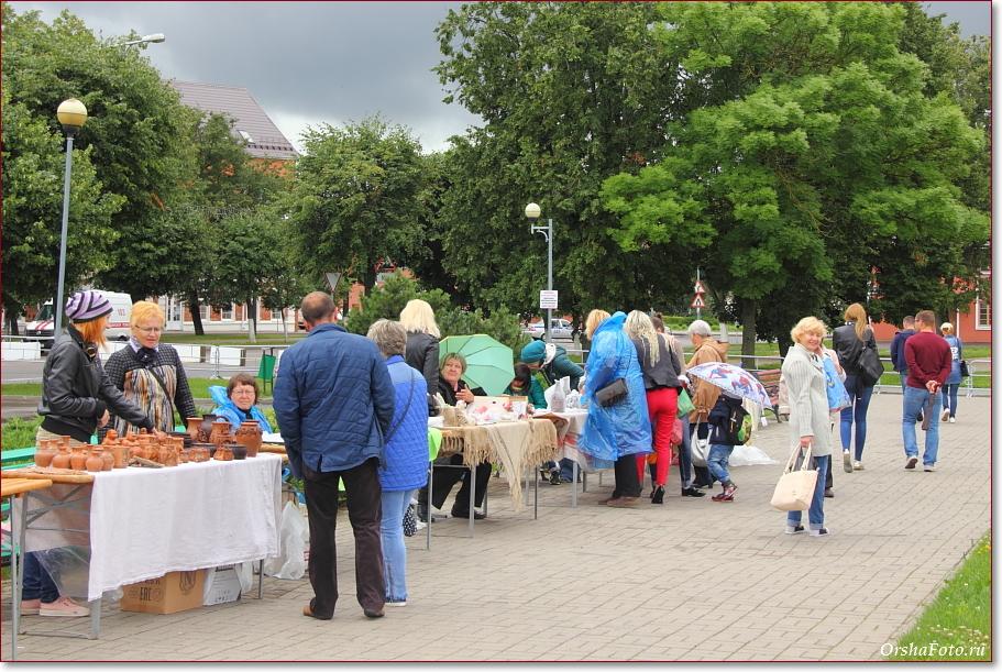 День Независимости в Орше — ярмарка