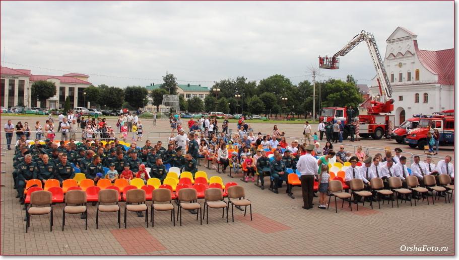 День пожарных в Орше - фото со сцены