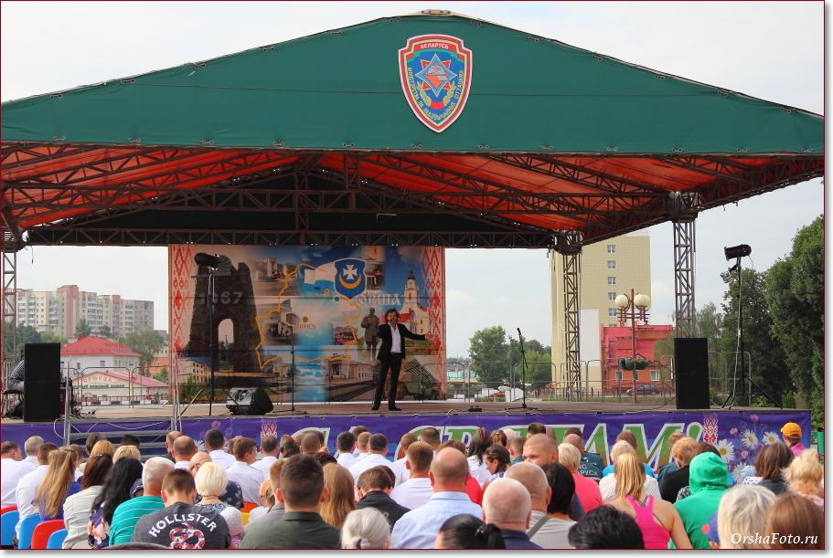 День пожарной службы ГРОЧС в Орше — концерт