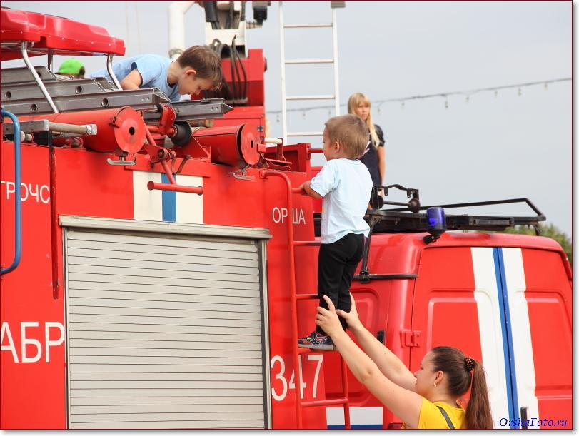 День пожарных ГРОЧС в Орше 2