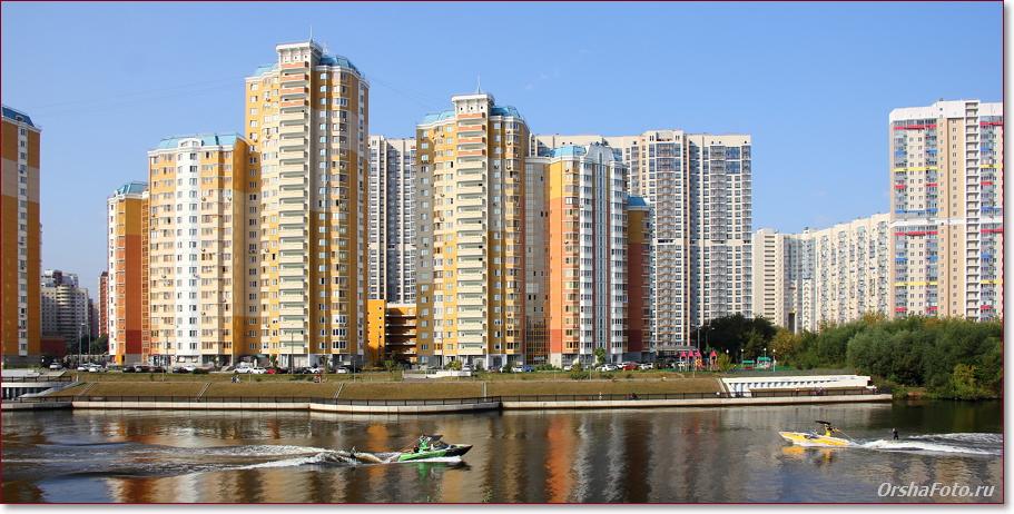 Москва, Павшинская пойма
