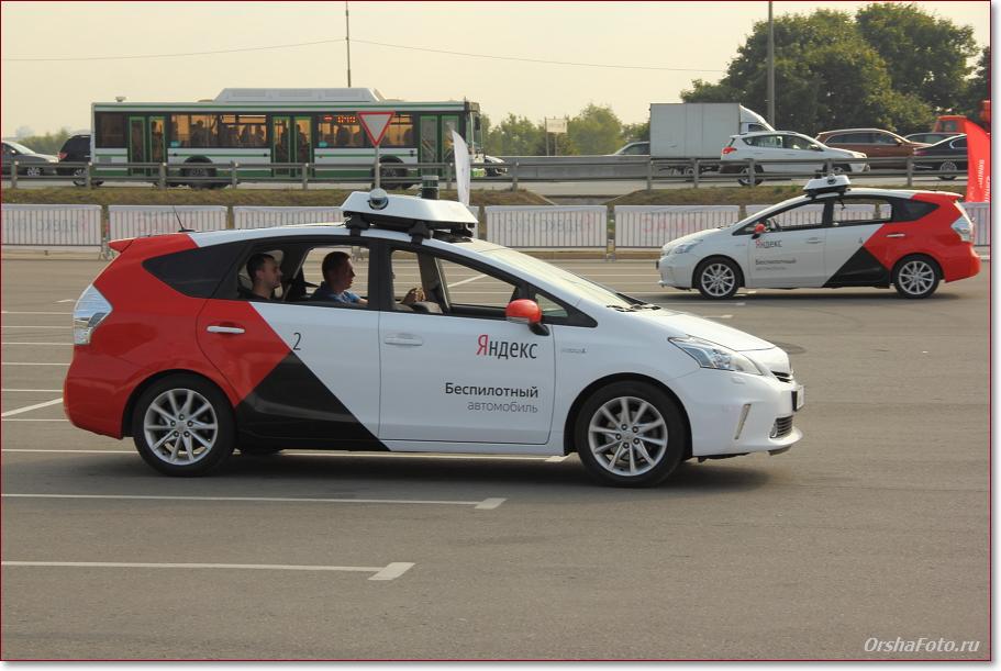 Беспилотное такси в Москве