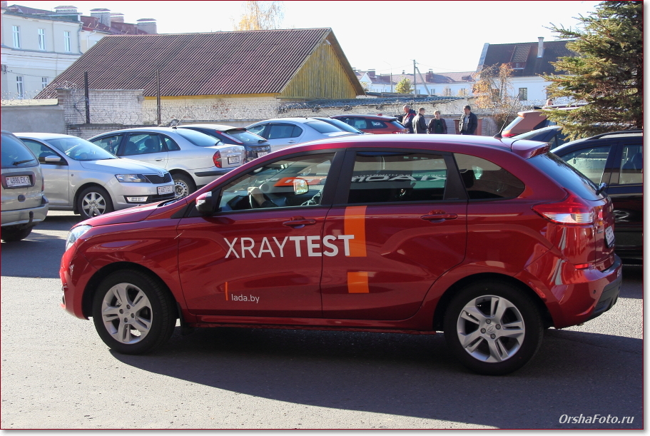 Тест-драйв в Орше LADA X-RAY