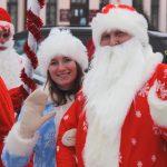 Дед Мороз со Снегурочкой в Орше