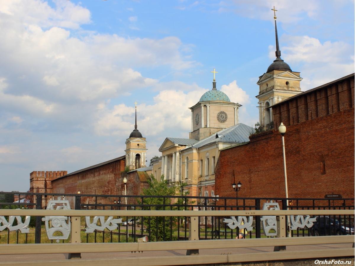 Смоленск, Стена, Храм Одигитрии — OrshaFoto.ru